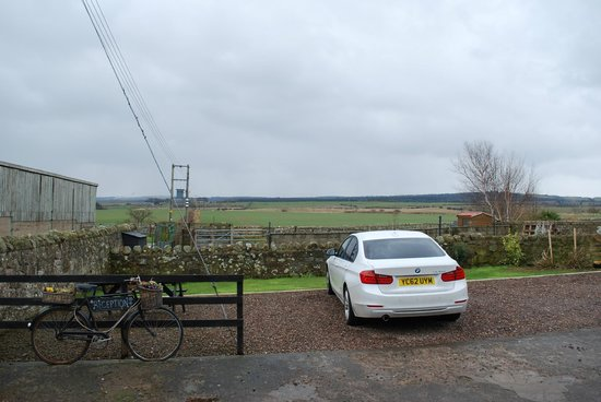 Fenham Farm Bed and Breakfast : View in-land