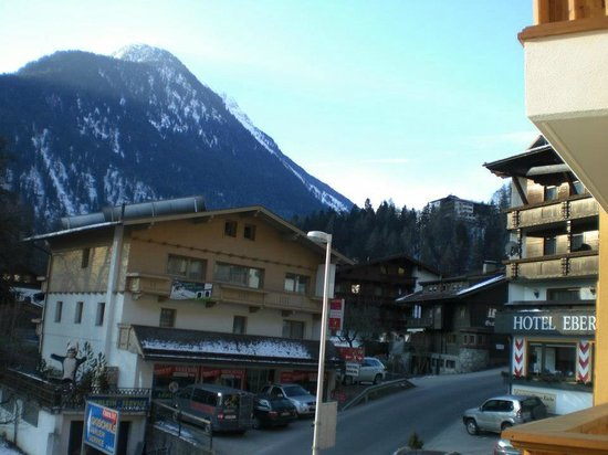 Hotel Eberl: View from balcony to right
