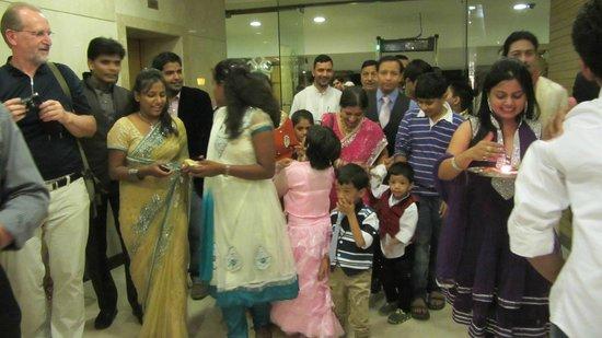 The Janpath Hotel: Hochzeit auf Indisch