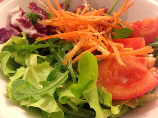 Ristorante Da Forner: Salad.....so fresh !