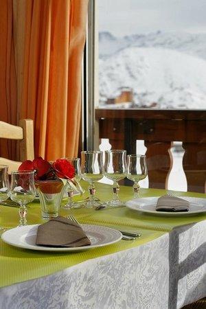 Hotel Eliova le Chaix: Restaurant