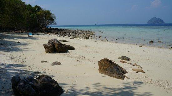 Phi Phi Natural Resort: private beach