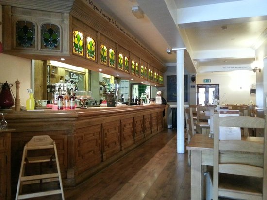 The Eating House: bar area