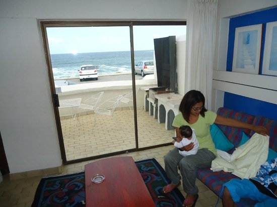 Hermanus Esplanade: View from lounge area of the chalet