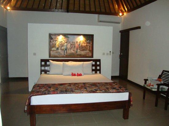 Bali Dream House: Partie chambre