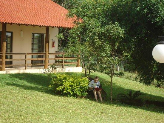 Ipelandia Park Golf Hostel: Vista dos apartamentos