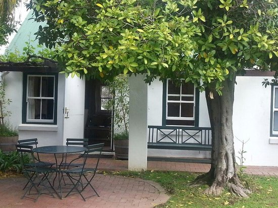 Constantia Uitsig Country Hotel: Terrace