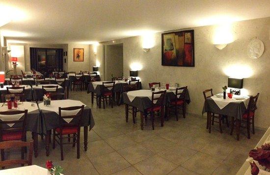 Le Saint Augustin : salle de restaurant