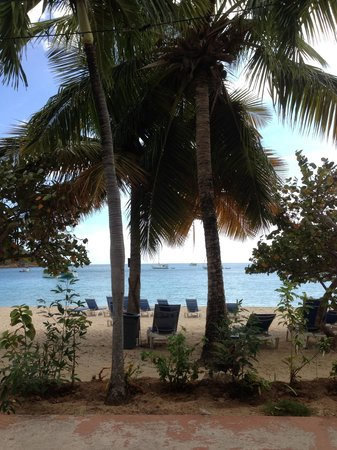 Island Beachcomber Hotel: A view from our room