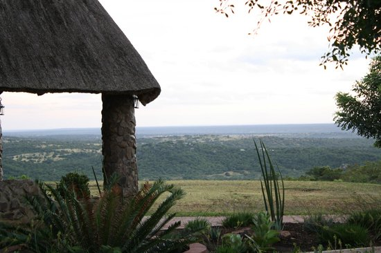 Zulu Nyala Game Lodge: View from our room