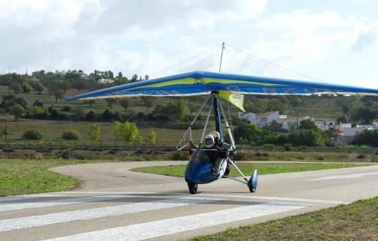 Flying Flexwings Microlight Flights: Lagos aerodrome is only 5 minutes from the city centre.