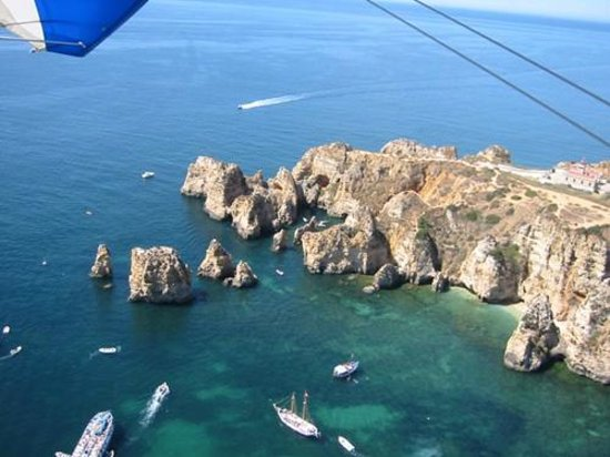 Flying Flexwings Microlight Flights: Ponta da Piadad with lighthouse and grottos