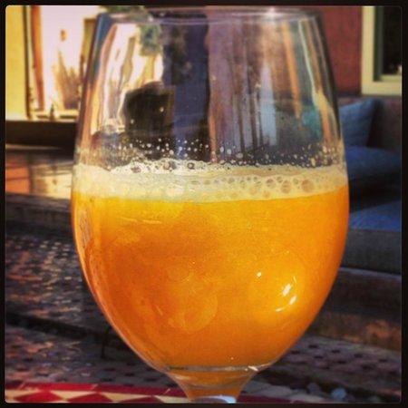 Villa 55 : pur jus d'orange