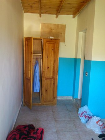 Auski Camp: The wardrobe for storage; the ensuite is through the door on the right
