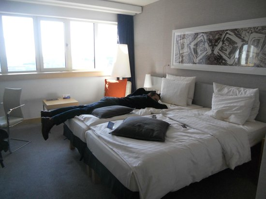 Radisson Blu Hotel, Hamburg: room 1025