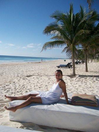 Cabanas Tulum : Playa