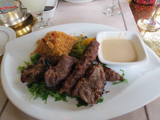 Khan El Khalili : The compolaint - Kabab & Kofta - lamb was chewy & worse still burnt all along the edges. Couldn'