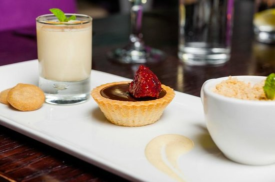 The Lowry Restaurant : Dessert Plate - A taste of all of our desserts