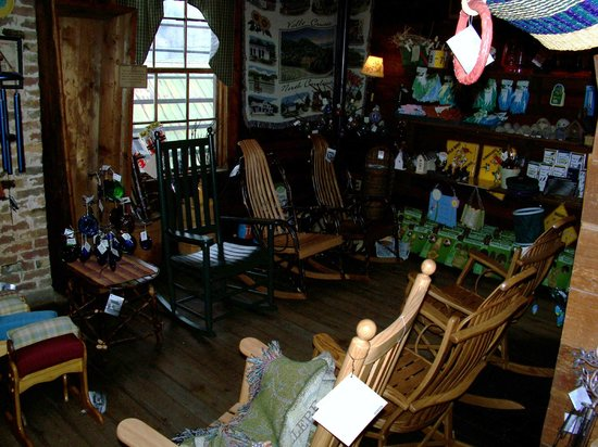 Mast General Store: some of the rocking chairs they offer