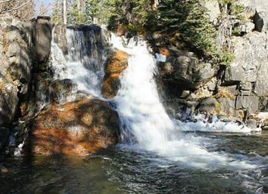 Mount Zirkel Wilderness Area : Small falls on Gold Creek
