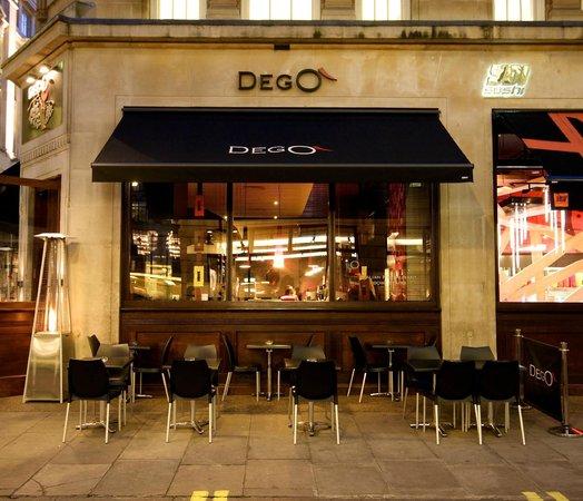 Dego Restaurant and Winebar : Wine bar Terrace
