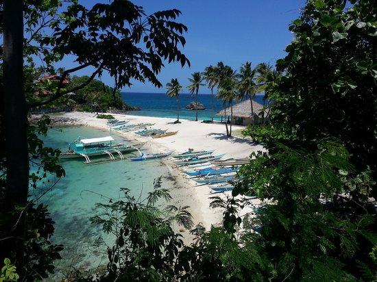 Malapascua Island, Filipinas: quite beach