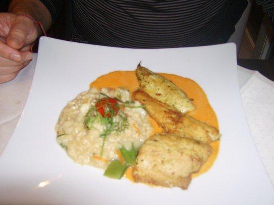 Hotel Lipprandt: Hauptgang Fisch