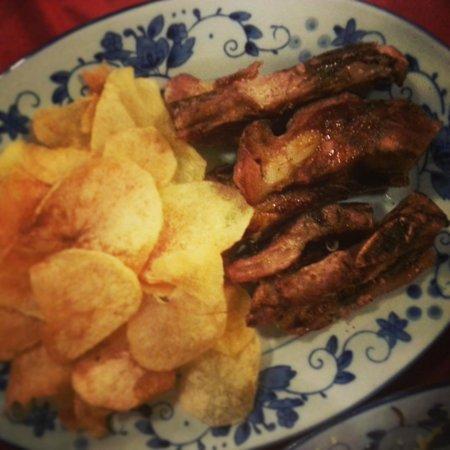 Amagao: Grilled pork ribs
