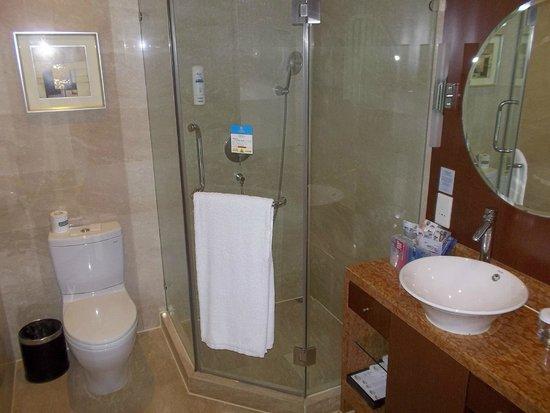 Seagull Hotel Jinshan : box doccia