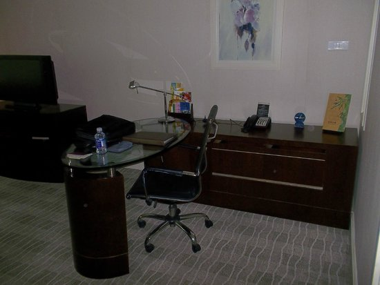 Seagull Hotel Jinshan : scrivania