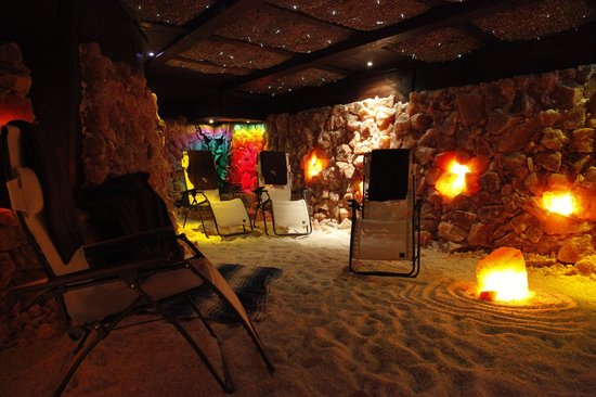 Asheville Salt Cave: Facing the Cascade in our Salt Therapy Cave