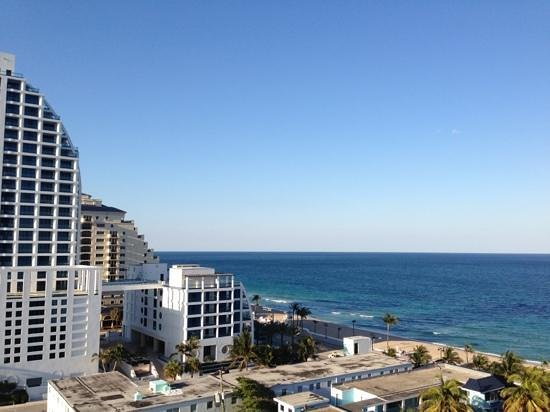 Hilton Fort Lauderdale Beach Resort: view from my room