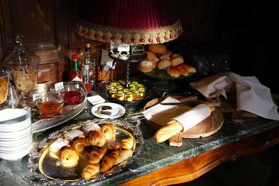 Hotel de Orangerie: Delicious breakfast