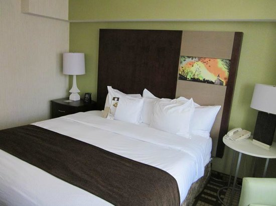 DoubleTree by Hilton Hotel Washington DC - Silver Spring : Comfy Bed, very modern decor.