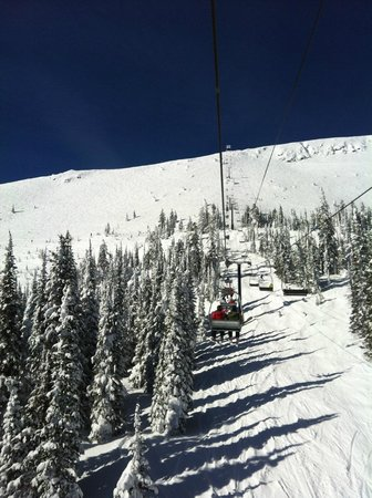 Big White Ski Resort: Falcon chair
