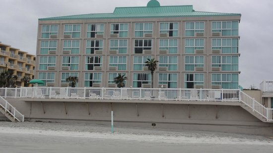 Boardwalk Inn and Suites: view from beach