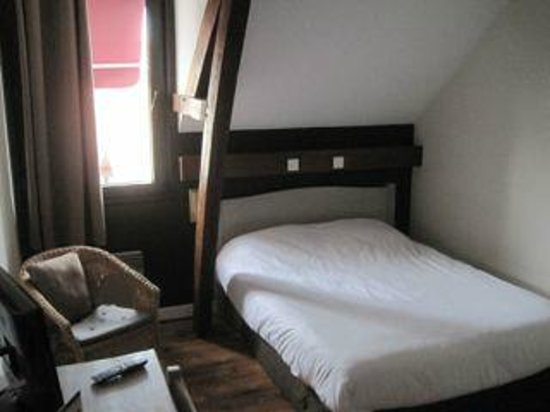 Hotel Caudron : Bedroom