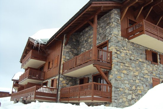 Residence CGH les Cimes Blanches - La Rosiere 1850: Terrasse