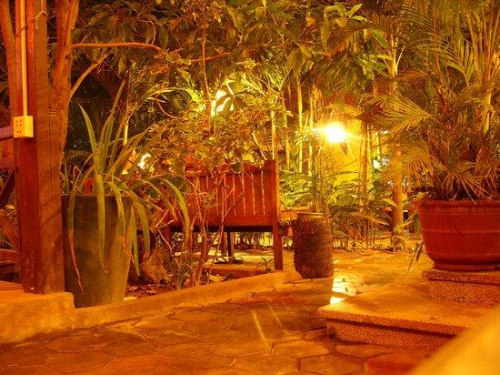 Golden Mango Inn : Terrace