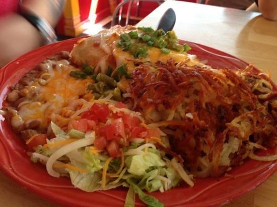 MartAnne's Burrito Palace : Fiesta Potatoes