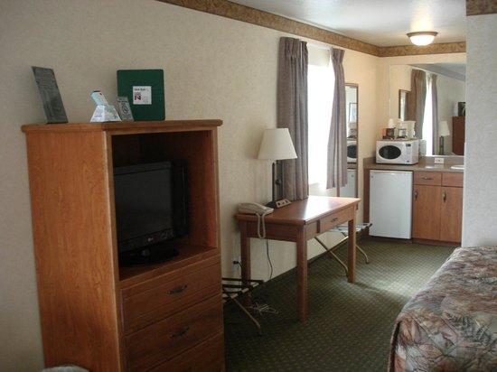 White River Inn: spacious
