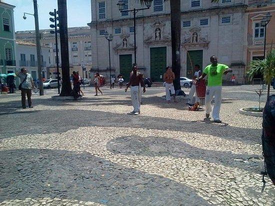 Praca da Se: Capoeira