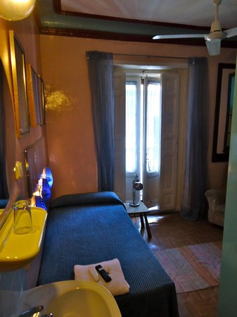 Dolce Vita: Room I stayed. Adorable.