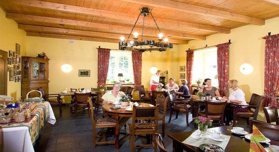 Landhaus Göddertzhof: Café