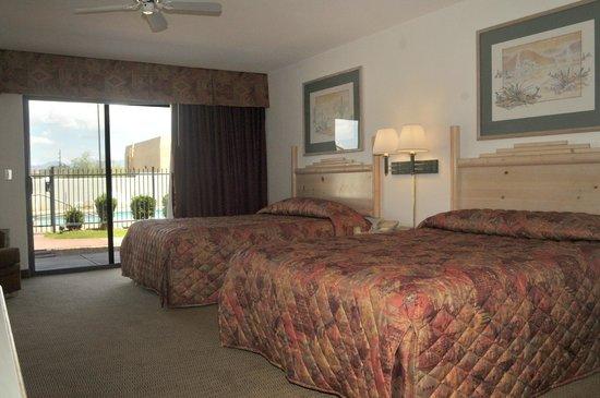 Los Viajeros Inn: Guest room