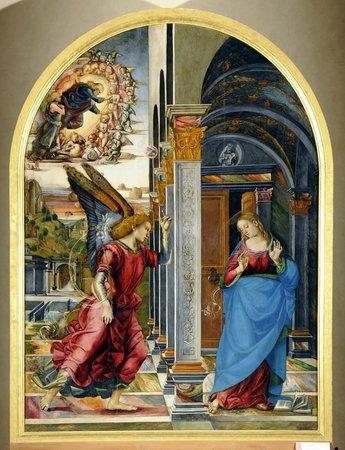Pinacoteca e Museo Civico: Luca Signorelli, Annunciazione, 1491