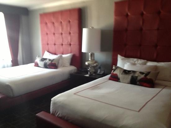 Kimpton Rouge Hotel: 2 queen beds
