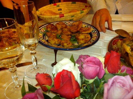 riad bianca : cena de nochebuena