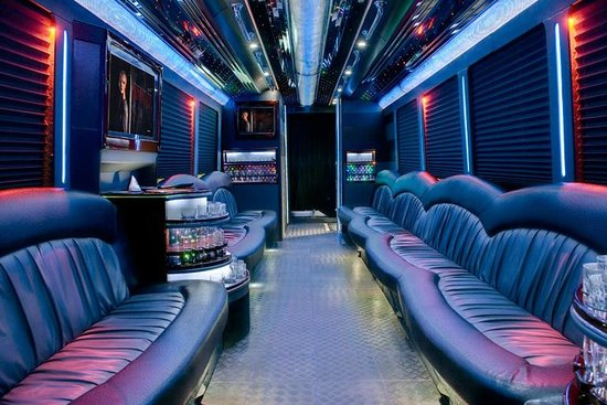 Nite Tours International : Inside one of Nite Tours buses