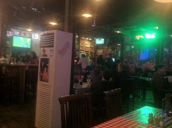 Tim's Texas Bar-B-Q: Tims interior